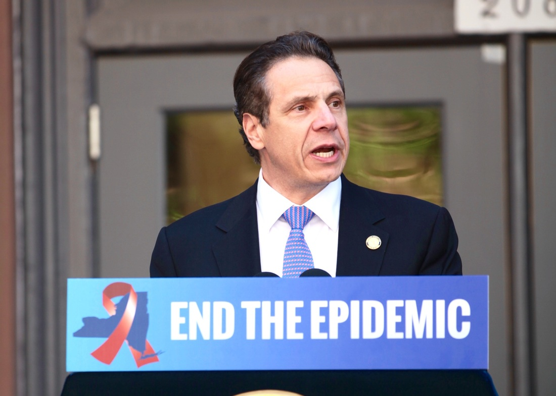 End AIDS, blueprint, New York, Cuomo