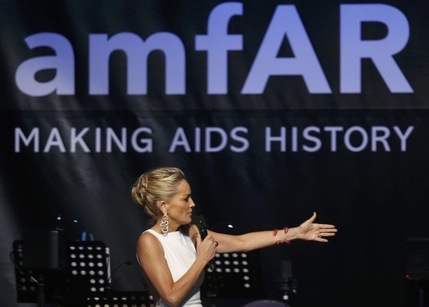 amfAR, Sharon Stone, end of AIDS